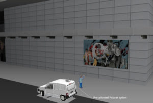 concept du graffiti monumentale