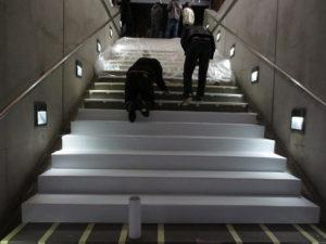 escalier piano aperçu