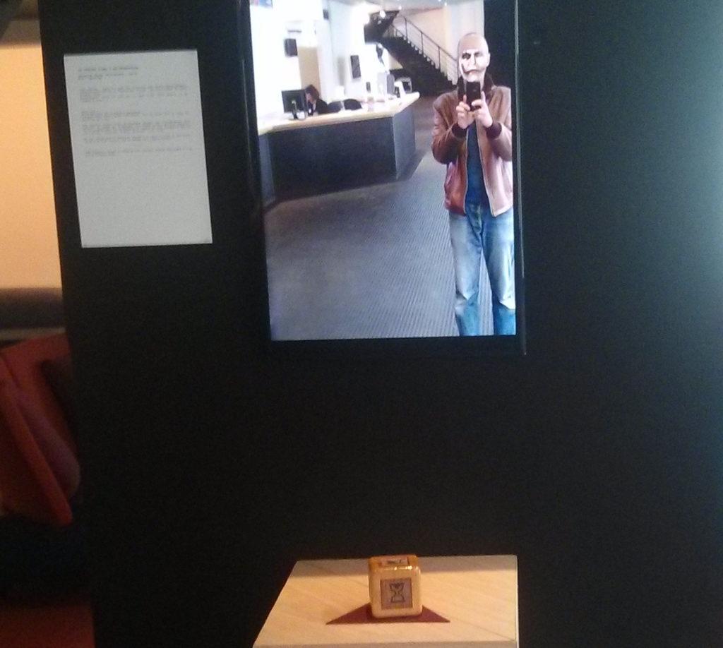 Miroir virtuel intéractif