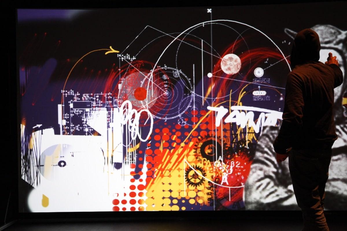 démonstration fresque digital