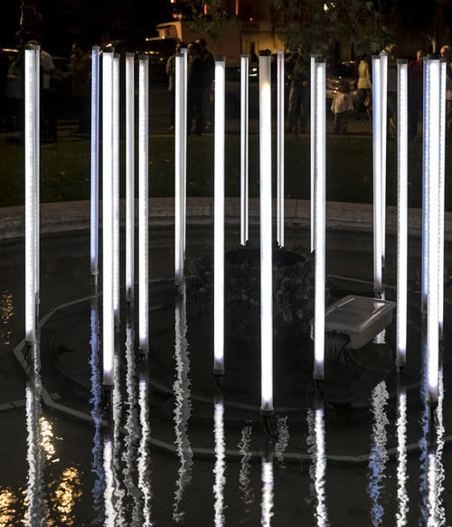 La fontaine lumineuse