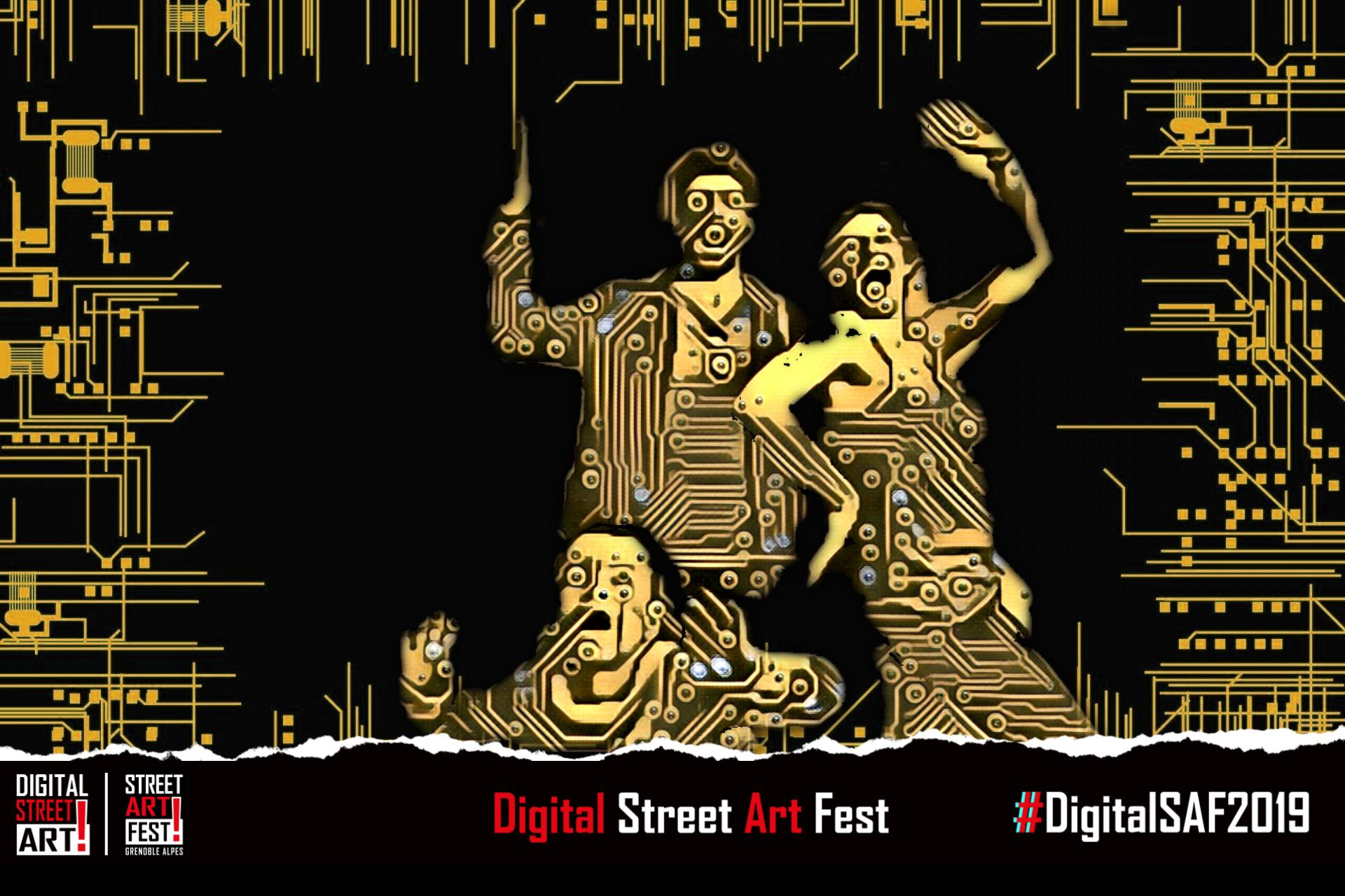 Digital street art fest