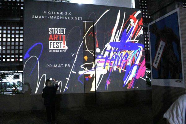 street art grenoble digital